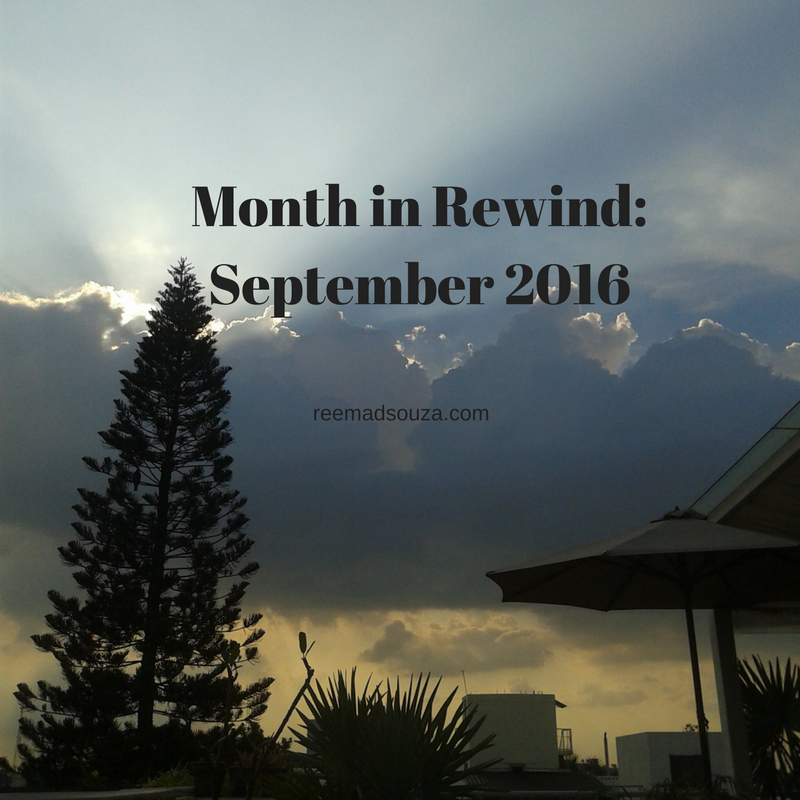 Month in Rewind: September 2016